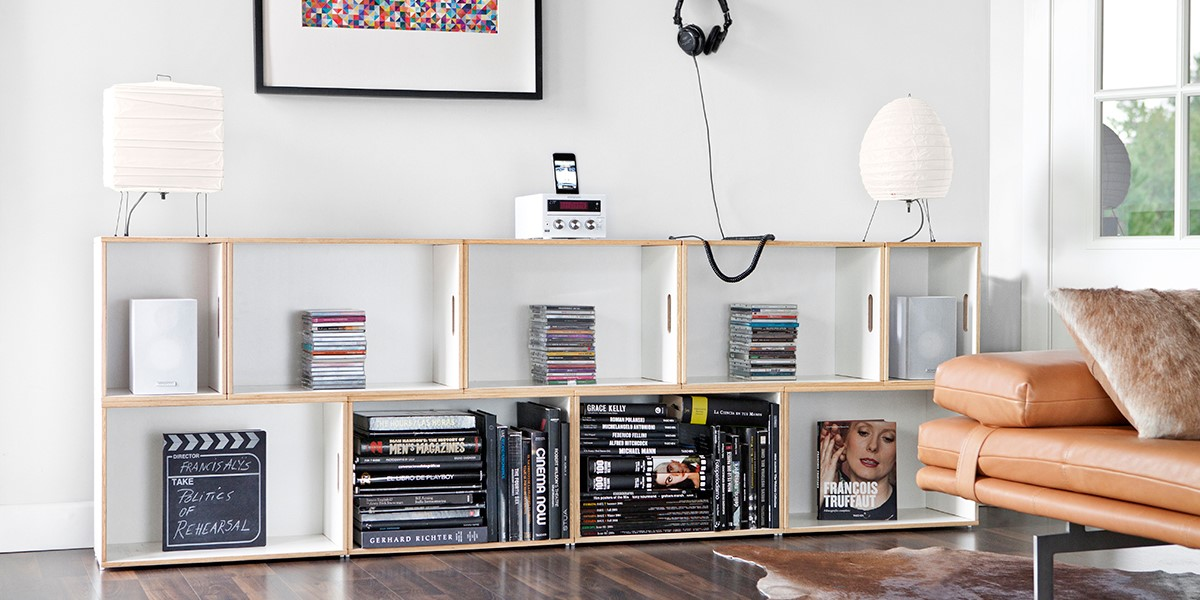 Brickbox Shelves Modular Libraries