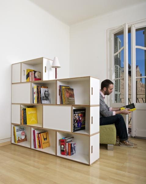 Shelves to separate atmospheres