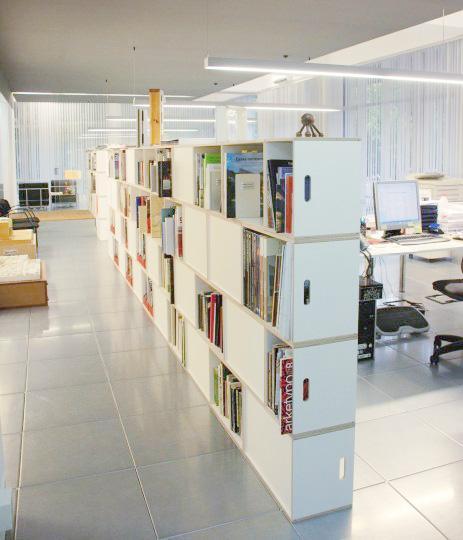 Estanter as para separar ambientes brickbox - Estanterias para librerias ...